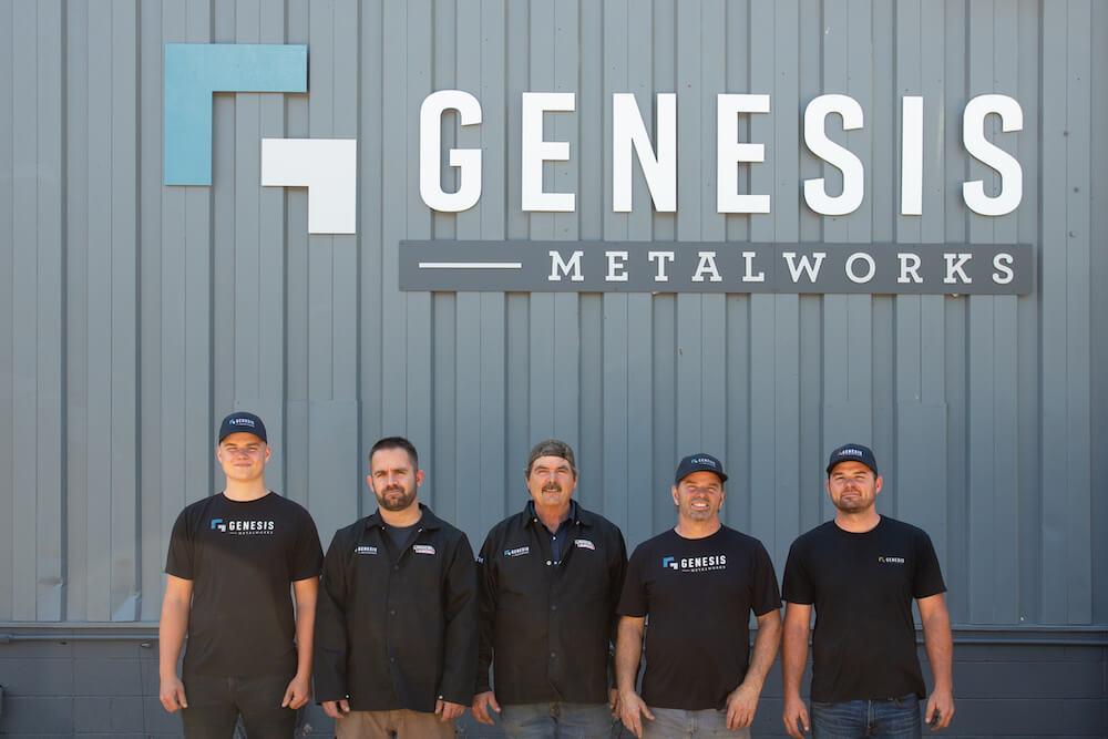 Genesis Metalworks Header Image